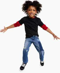 Toddler Boys Solid Basic Tee, Created for Macy's