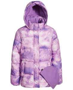 Big Girls Fleece Lined Puffer Coat