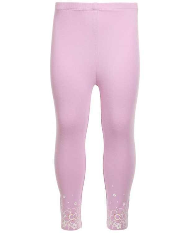 Toddler Girls Floral Border Leggings, Created for Macy's