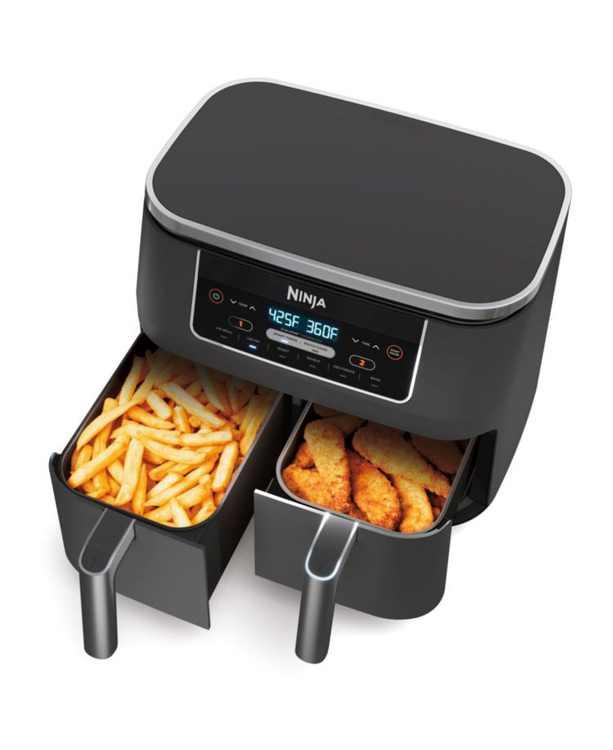 DZ201 Foodi 6-in-1 8-qt. 2-Basket Air Fryer with DualZone Technology