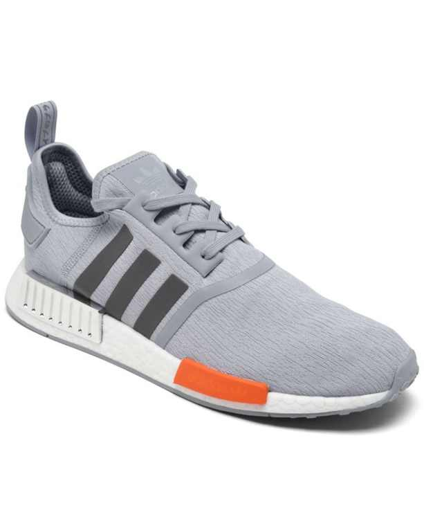 Men's NASA Artemis NMD R1 Casual Sneakers from Finish Line