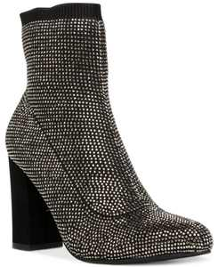 Baybe Bling Sock Booties, Created for Macy's