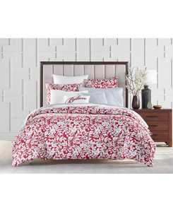 Garden Manor Cotton 300-Thread Count 3-Pc. Full/Queen Comforter Set, Created for Macy's