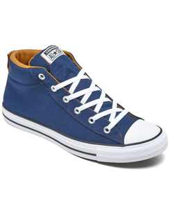 Men's Chuck Taylor All Star High Street Mid Casual Sneakers from Finish Line