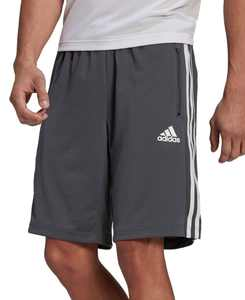 "Men's Designed 2 Move PRIMEBLUE 10"" 3-Stripes Shorts"