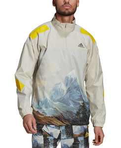 Men's Sportswear Mountain Graphic Half-Zip Sweatshirt