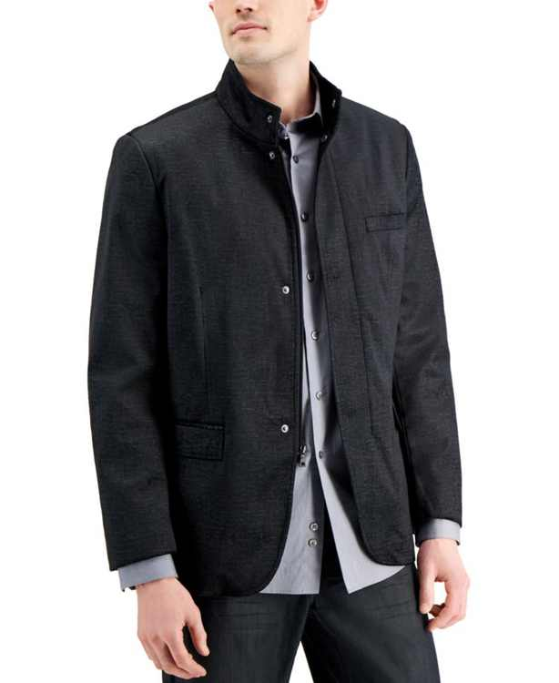 Men's Textured Hybrid Sportcoat, Created for Macy's