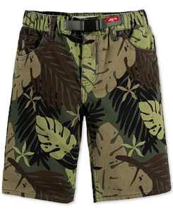 Big Boys 502 Regular-Tapered Fit Twill Camp Shorts