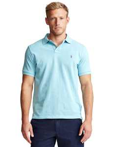 Men's Big & Tall Classic-Fit Cotton Mesh Polo