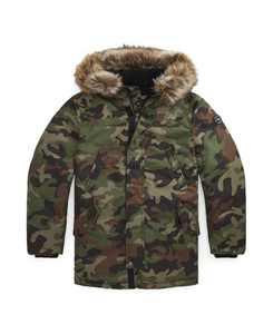 Big Boys Down Parka Coat