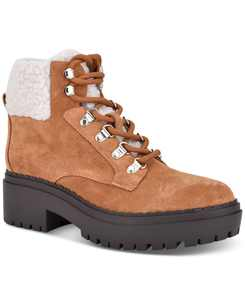 Leigan Lug-Sole Hiker Boots