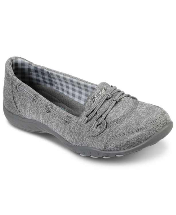 Women's Relaxed Fit - Breathe-Easy - Good Influence Slip-On Walking Sneakers from Finish Line
