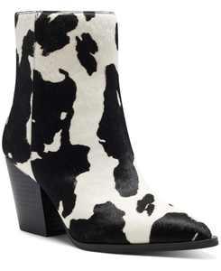 I.N.C. Women's Saphira Block-Heel Booties, Created for Macy's