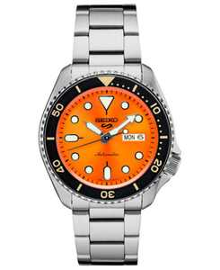 Men's Automatic Stainless Steel Bracelet Watch 40mm