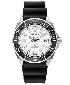 Men's Automatic Prospex Black Silicone Strap Watch 44mm