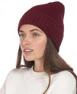 INC Chevron-Knit Beanie, Created for Macy's