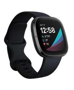 Sense Carbon Strap Smart Watch 39mm