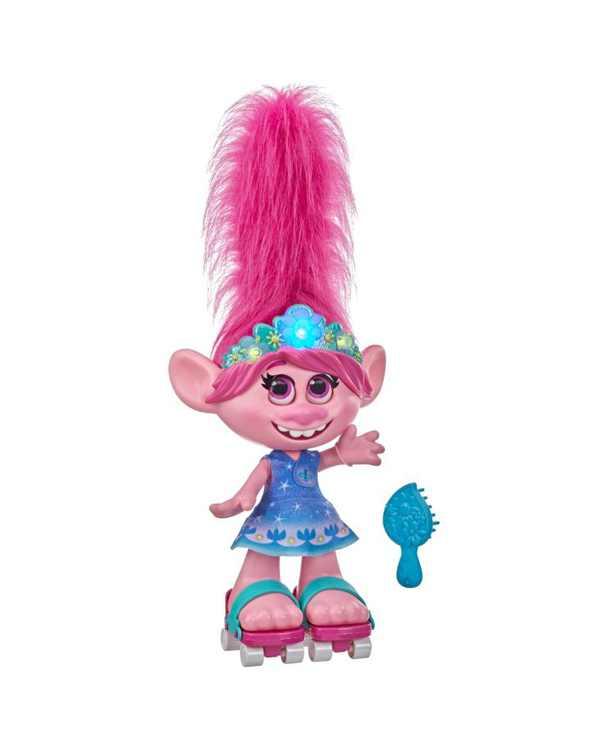 CLOSEOUT! DreamWorks Trolls World Tour Dancing Hair Poppy