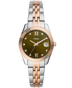 Women's Scarlette Mini Two-Tone Bracelet Watch 32mm