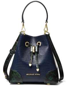 Mercer Gallery Extra Small Leather Convertible Bucket Bag