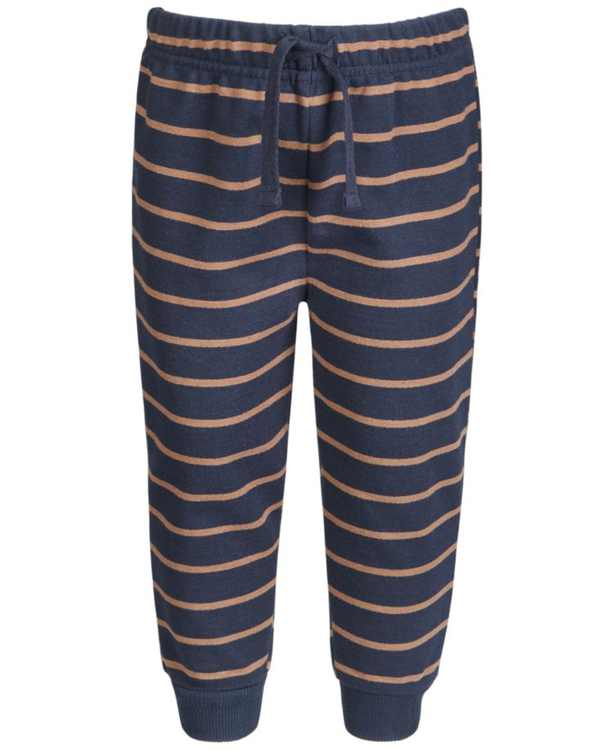 Baby Boys Striped Jogger Pants, Created for Macy's