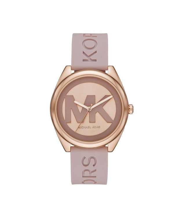 Women's Janelle Pink Silicone Strap Watch 42mm
