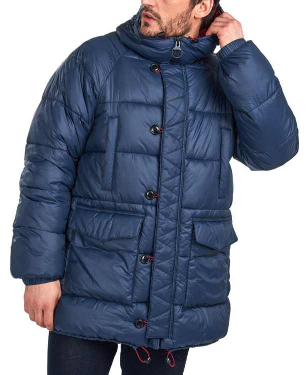 Men's Belgo Quilted Coat