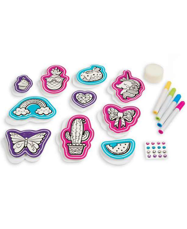 CLOSEOUT! Handcrafted Fashion Patches Activity Kit, Makes 10 Patches, for Ages 8 and Up