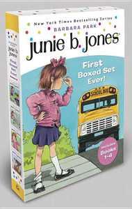 Junie B. Jones: Junie B. Jones First Boxed Set Ever! : Books 1-4 (Paperback)