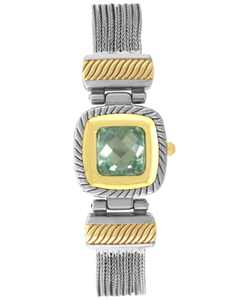 Women's Crystal Multi-Chain Flip Watch 25mm, Created for Macy's