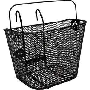 Bell Tote 510 Metal Handlebar Basket, Black