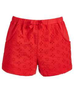 Baby Girls Eyelet Knit Cotton Shorts, Created for Macy's