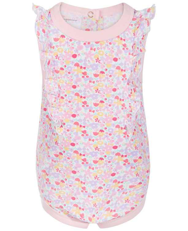 Baby Girls Ditsy Floral Bodysuit, Created for Macy's