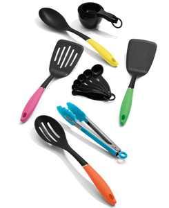 Curve 15-Pc. Kitchen Tool Set