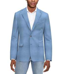 Men's Classic-Fit Ultraflex Silk & Wool Blazer