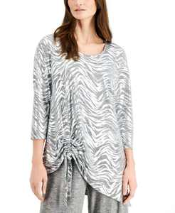 Space-Dyed Knit Top, Created for Macy's