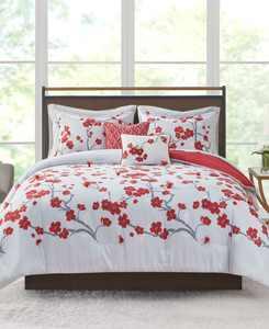 CLOSEOUT! Blossom 9-Pc. Queen Comforter Set