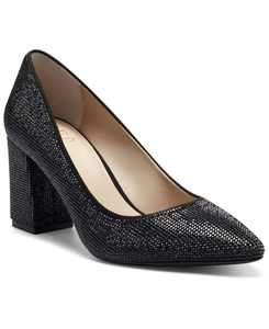 INC Bahira Block-Heel Pumps, Created for Macy's