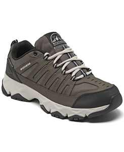 Men's Relaxed Fit Crossbar Wide Width Hiking Sneakers from Finish Line
