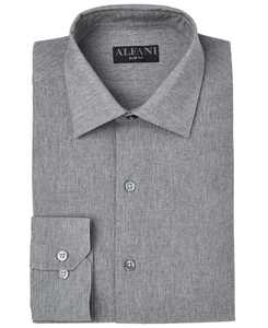 Men's Slim-Fit Heather Dress Shirt, Created for Macy's