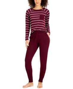 Hacci Sleep Top & Jogger Pajama Pants Collection, Created for Macy's