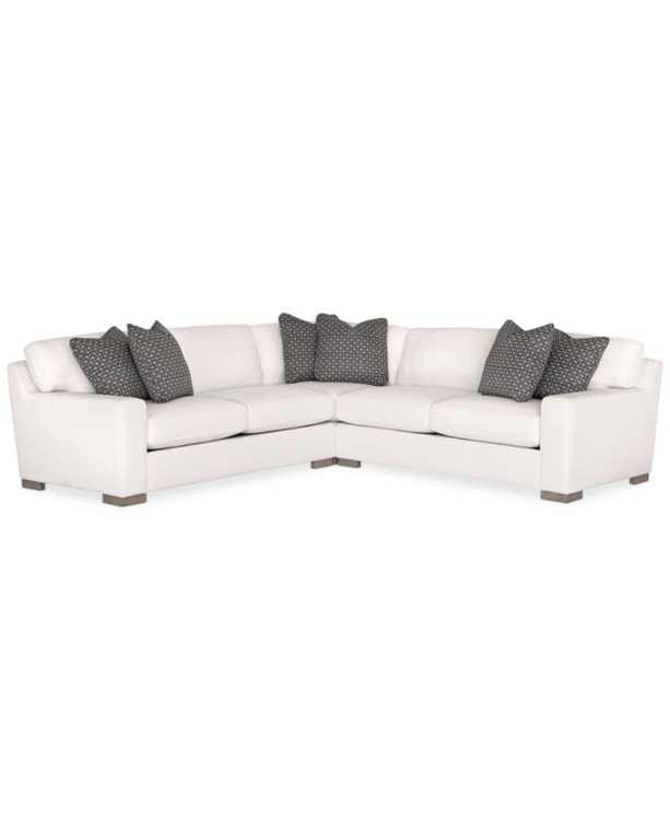 Doverly 3-Pc. Fabric Sectional, Created for Macy's