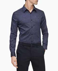 Men's Camo Button Down Shirt