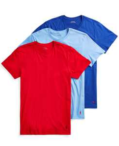 Men's 3-Pk. Classic Cotton T-Shirts