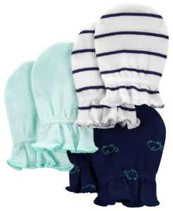 Baby Boys Mittens, Pack of 3