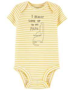 Baby Boys Papa Dinosaur Original Bodysuit
