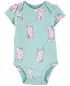 Baby Girl Bunny Bodysuit