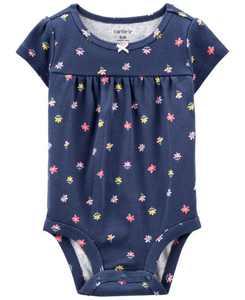 Baby Girl Floral Bodysuit