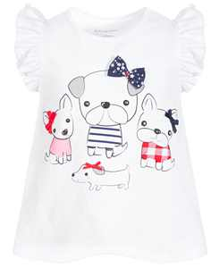 Baby Girls Puppy Pals Cotton Tunic, Created for Macy's