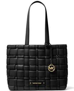 Ivy Woven East West Tote